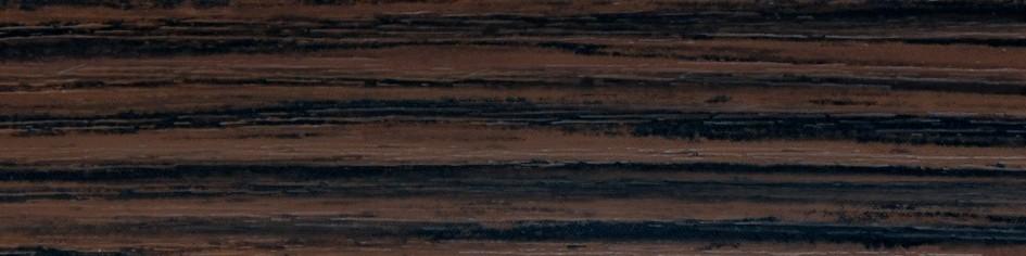 Кромка мебельная Зебрано Темный 29.02 для ДСП. Производство КРОМАГ (Украина).