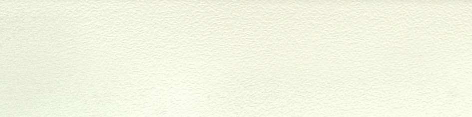 PVC furniture edge Snow White Pearl 601.01 for chipboard. Production of KROMAG (Ukraine).